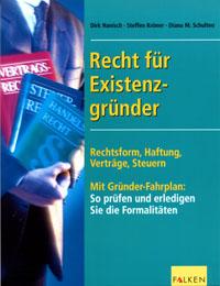 Buchcover Recht für Existenzgründer
