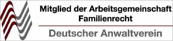 Logo Arbeitsgemeinschaft Familienrecht beim Deutschen Anwaltverein